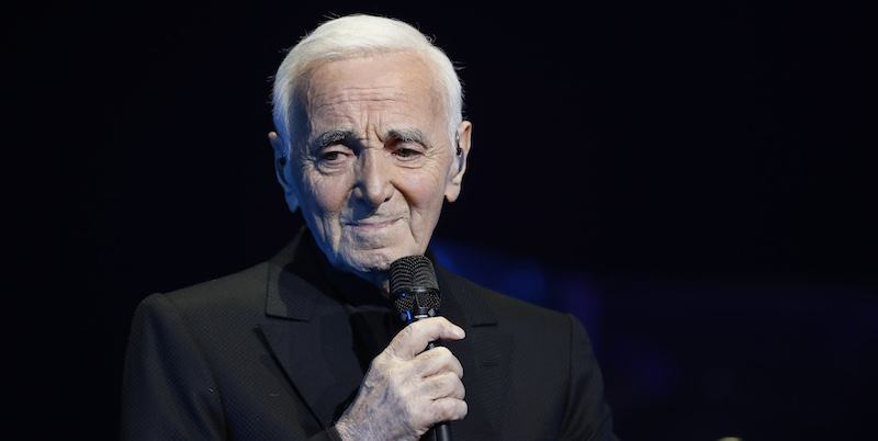 Addio a Charles Aznavour