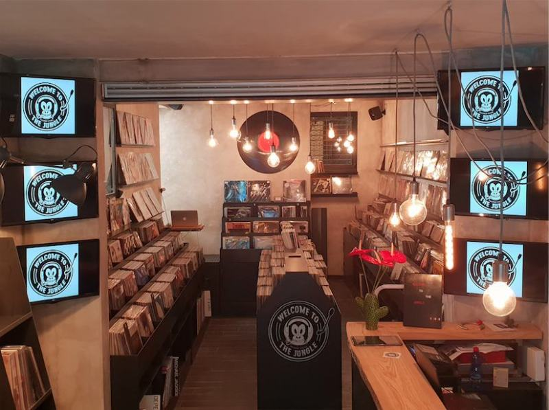 """Welcome To The Jungle record store"": la casa del vinile a Roma"